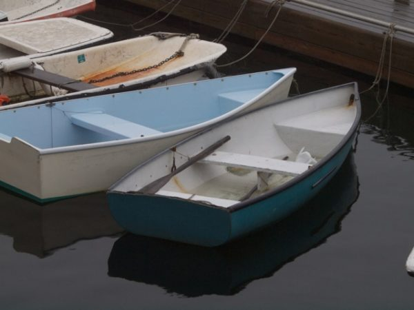This photo of boats, taken in Bar Harbor, is one of the images to be on display at the HD Moore Library in Steuben in June.