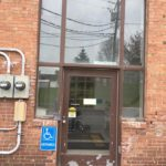 An entryway at the St. Thomas Center in Madawaska is slated for repair in part to a recent grant award.