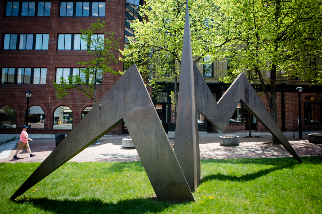 How this abstract sculpture made a real-life difference