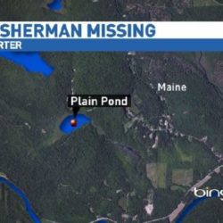 Porter Maine Map.Wardens Search For Man Who Went Missing While Fishing In Porter