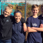 St. Michael School students volunteer during last fall's Day of Caring event.