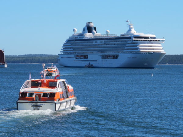 Bar Harbor Voters To Consider Competing Cruise Ship Ballot - Cruise ship bar harbor