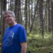 "Glenburn resident Greg Westrich -- author of ""Hiking Maine's Baxter State Park,"" released by FalconGuides on June 1 -- hikes on a trail near Kidney Pond on May 18 in Baxter State Park. The trail is one of many park trails included in the guidebook."