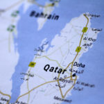 A map of Qatar is seen in this picture illustration June 5, 2017.