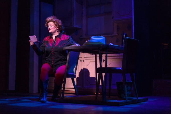 Charis Leos as Louise. &quotAlways...Patsy Cline.&quot Maine State Music Theatre. Photo by Kinectiv.