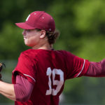 Peter Kemble, pictured during Bangor High School's Class A North quarterfinal victory over Hampden Academy on June 8, will play this summer in the South Florida Collegiate League in preparation for his freshman season at the University of Maine. 