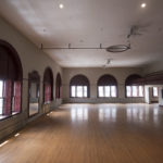 The ballroom on the top floor of the Nichols Block on Exchange Street in Bangor. Part of the property will be renamed The Bangor Arts Exchange.
