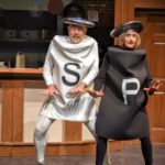 "Lucinda Ziesing, right, and Gordon Adams as Salt and Pepper perform ""Making Whoopie"" in the musical ""The Night Kitchen."""