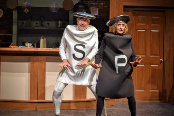 Lucinda Ziesing, right, and Gordon Adams as Salt and Pepper perform &quotMaking Whoopie&quot in the musical &quotThe Night Kitchen.&quot