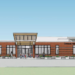 Conceptual sketches for a new, $28 million elementary school approved by Brunswick voters on Tuesday. The school, to house 660 preschool through second-grade students, will be built on the former Jordan Acres School site. The school will be funded by local dollars only after voters supported foregoing the process to apply for state funding, which typically takes years.