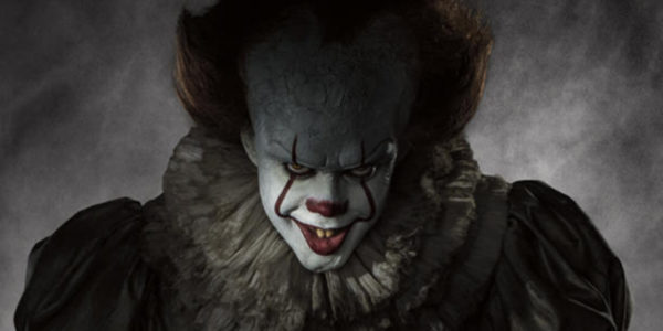 Bill Skarsgard as Pennywise in the upcoming &quotIT&quot movie.