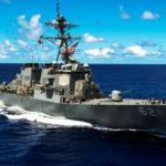 The USS Fitzgerald