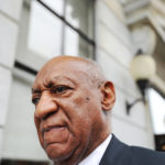 Bill Cosby leaves Montgomery County Courthouse after a mistrial was declared in his sexual assault trial in Norristown, Pennsylvania, Saturday, June 17, 2017.