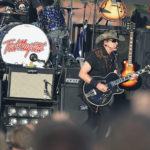 Rocker Ted Nugent performs on the Bangor waterfront, July 8, 2012.