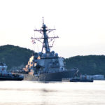 Number of missing sailors found dead as US destroyer reaches port