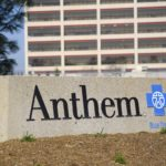 The office building of health insurer Anthem is seen in Los Angeles, Feb. 5, 2015.