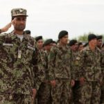 """Forest"" pattern uniforms used by Afghan National Army conventional forces."