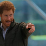 Britain's Prince Harry, on a promotional visit for the 2018 Invictus Games, visits the Sydney Olympic Park Aquatic Center which will be a host venue in Sydney, Australia, June 8, 2017.
