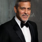 "George Clooney at a party to celebrate 60 years of ""The Omega Speedmaster"" at the Tate Modern, London, April 26, 2017."