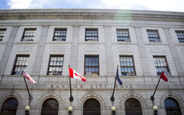 Bangor City Hall is seen Thursday.