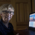Ruth Frost, 64, of Hampden worked for 30 years in the family business and used a computer for billing and bookkeeping. To make herself more comfortable with  setting up and using her new home laptop for Facebook and other websites she signed up for a digital literacy class at Eastern Area Agency on Aging.