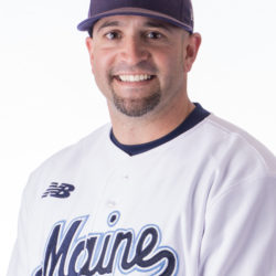 Nick Derba was named the University of Maine's head baseball coach on Friday.