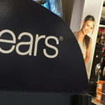 A Sears logo is seen inside a department store in Garden City, New York, U.S. on May 23, 2016.