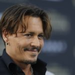 "Johnny Depp at the premiere of Disney's ""Pirates of the Caribbean: Dead Men Tell No Tales."""