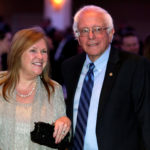 U.S. Sen. Bernie Sanders and his wife, Jane, attend the White House Correspondents' Association annual dinner in Washington, April 30, 2016.