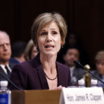 Former U.S. Deputy Attorney General Sally Yates  testifies before the Senate Judicary Committee's Subcommittee on Crime and Terrorism on Russian interference in the U.S. presidential election on Capitol Hill in Washington, D.C., May 8, 2017.