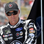 NASCAR Cup Series driver Kevin Harvick (4) before the FireKeepers Casino 400 at Michigan International Speedway.