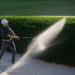 Spieth holes out bunker shot to win Travelers