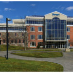 A rendering of a proposed Bangor Savings Bank building at 20 South St., part of the bank's planned Bangor waterfront corporate headquarters campus.