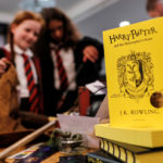 Harry Potter fans attend an anniversary presentation at Waterstones bookshop in London, Britain June 26, 2017.
