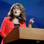 Sarah Palin speaks at the Western Conservative Summit in Denver, July 1, 2016.