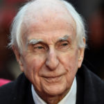 "British author and creator of the Paddington Bear character, Michael Bond, arrives for the world film premiere of ""Paddington"" at Leicester Square in central London, Nov. 23, 2014."