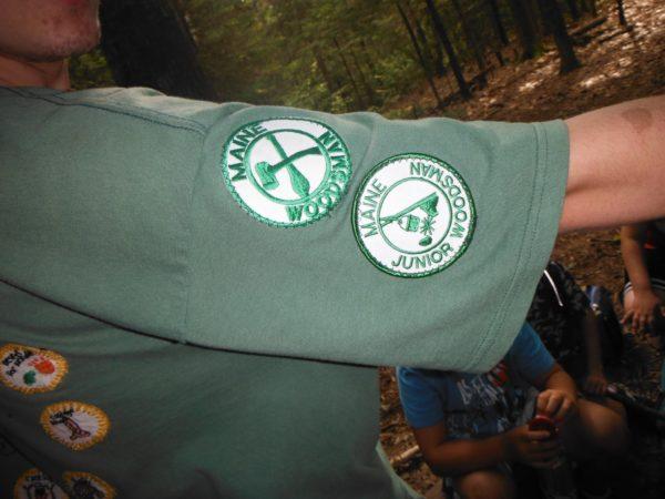 Junior Maine Guide Program Patches