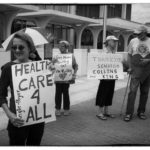 Manners gathered in front of the Bangor Federal Building on June 27th to call for Medicare for All and to thank Senators Collins and King for opposing the Republican health care proposal
