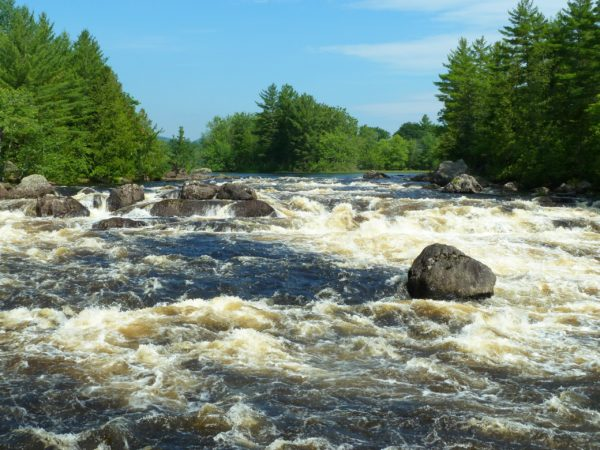Haskell Rock Pitch, East Branch of the Penobscot. | Photo by Jon Luoma.
