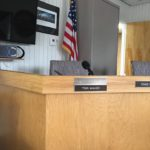The Town Manager's seat in Council Chambers will soon be filled with a new face.