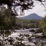 KATAHDIN WOODS and WATERS NATIONAL MONUMENT -- 08/24/2016 --  The view of Haskell Rock Pitch on the East Branch of the Penobscot River with Bald Mountain in the background can be seen Wednesday. President Barack Obama designated about 87,000 acres of land east of Baxter State Park as the new Katahdin Woods and Waters National Monument. Gabor Degre | BDN