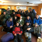 Trekkers' 12th graders from Team Puma head out for a 28-hour wilderness solo during the Rites of Passage Expedition.