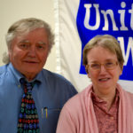 United Way of Kennebec Valley's Executive Director Rob Gordon and Finance Director Wendy Beaudoin have dedicated more than 30 years to the agency.
