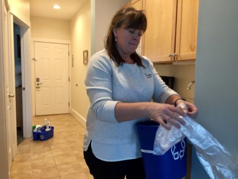 Sarah Diment, owner of The Beachmere Inn, is stepping in as a housekeeper because she can't find enough people to work at her inn. Labor shortages are plaguing the hospitality industry in Maine.