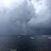 Jackson Witherill took this photo on Sebago Lake during a tornado warning Saturday afternoon. (Photo courtesy CBS 13)