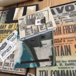 Old posters, playbills and photos document the 100-years of history behind going to the movies in Fort Kent.
