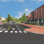Conceptual presentation of Wiscasset traffic fix, as proposed by the Maine Department of Transportation.
