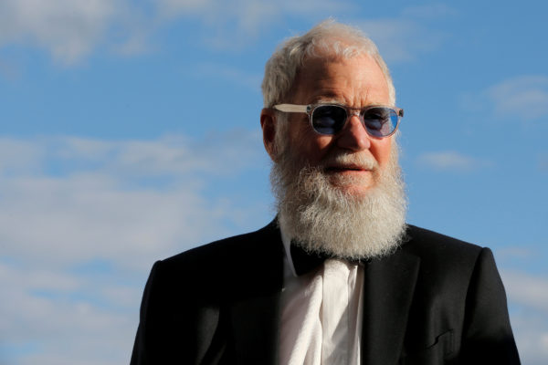 Former talk show host and comedian David Letterman arrives for the 2017 Profile in Courage Award ceremony, being given to former U.S. President Barack Obama, at the John F. Kennedy Library in Boston, Massachusetts, U.S. on May 7, 2017.