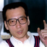 Prominent dissident intellectual Liu Xiaobo pictured during a March 5, 1995, interview.