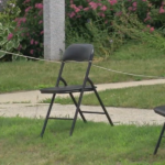 The Yarmouth Clam Festival is now less than two weeks away, and while some parade goers have already picked out, and locked up, their spots, others are accused of taking that tradition too far.